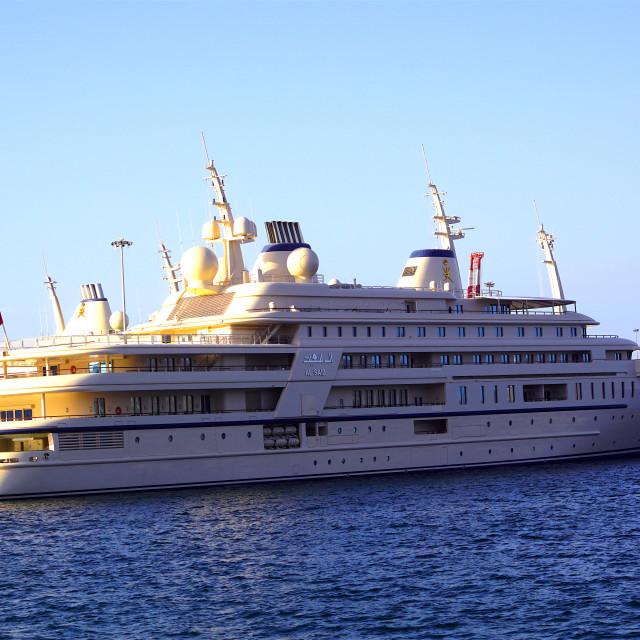 """Al Said, the Royal Cruise"" stock image"
