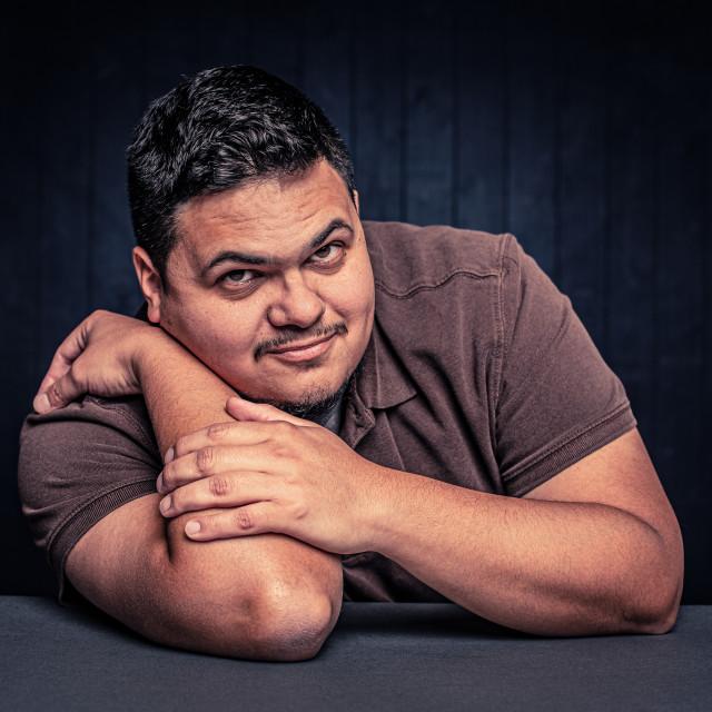 """Friendly Latino Man"" stock image"