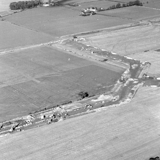 """Rural Werrington (1980)"" stock image"