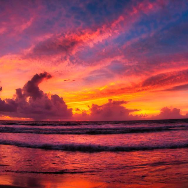"""""""Jimbaran Beach"""" stock image"""