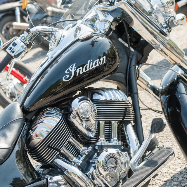 """Indian motorcycle"" stock image"