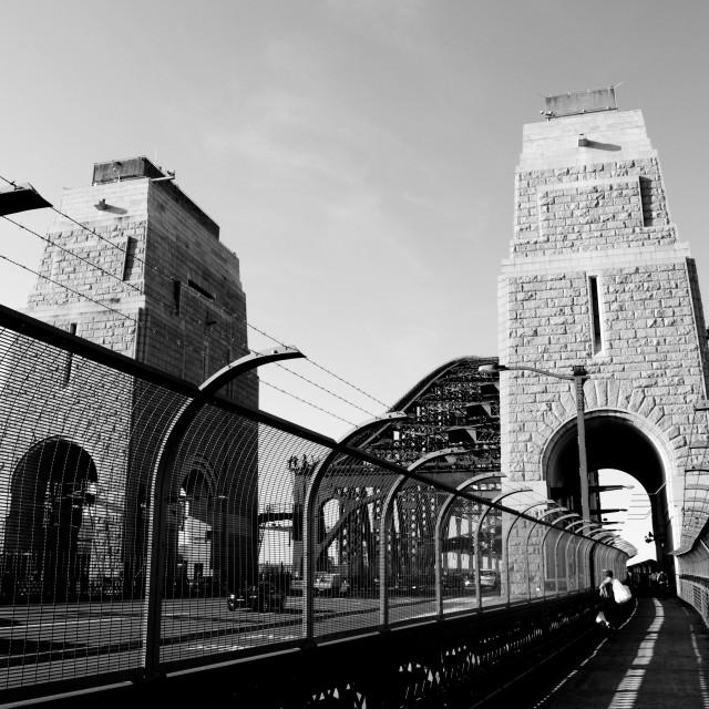 """""""Iron Bridge"""" stock image"""