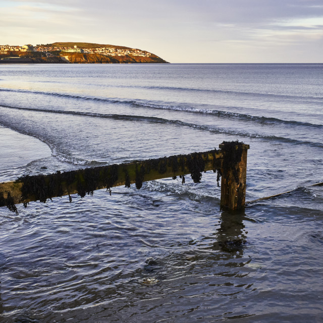 """Douglas Bay, Isle of Man"" stock image"