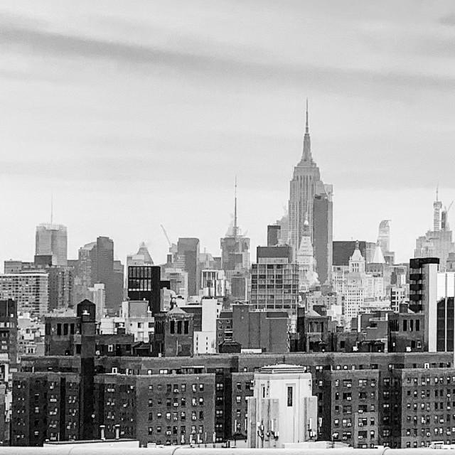 """New York B&W"" stock image"