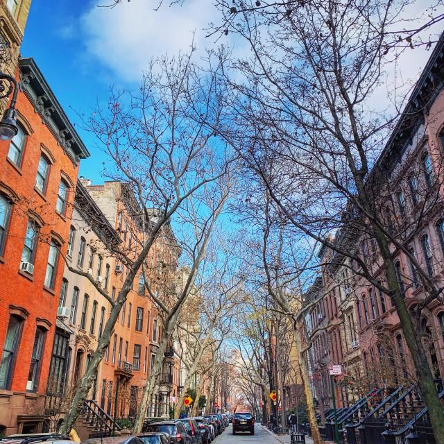 """Greenwich Village NYC"" stock image"