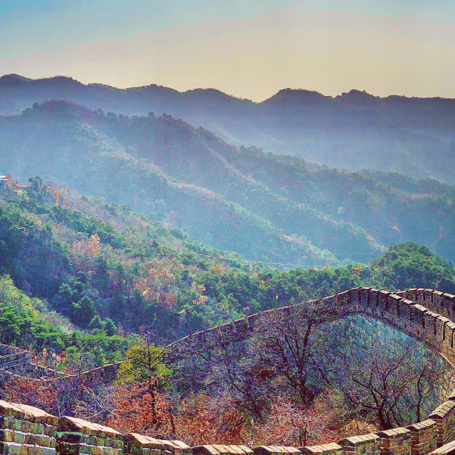 """""""The Great Wall Of China"""" stock image"""