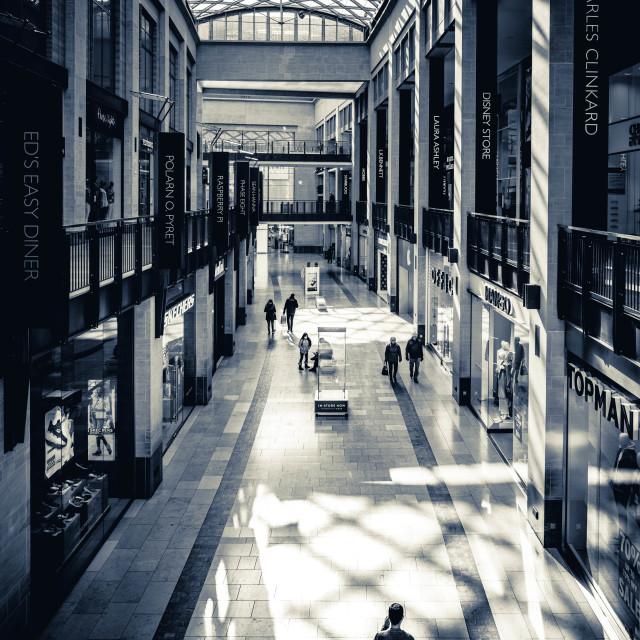 """Grand Arcade, Cambridge UK."" stock image"