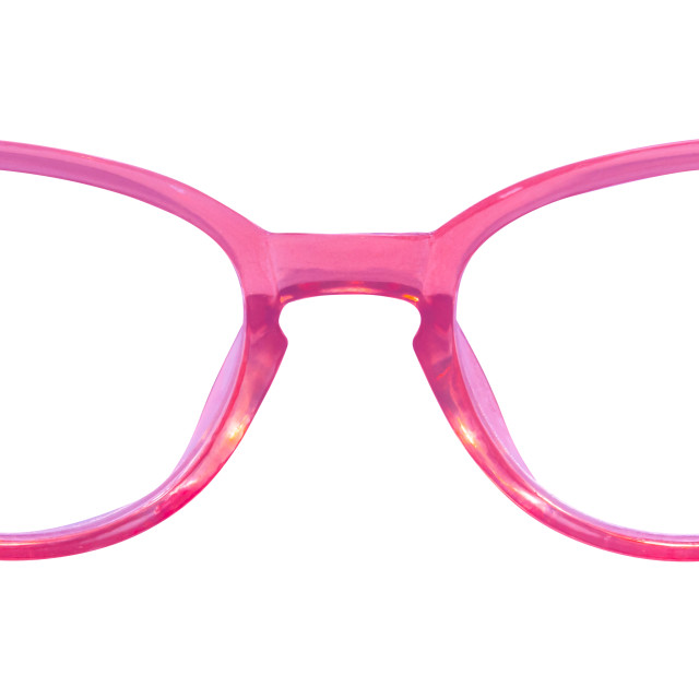 """Retro Pink Cats Eye Glasses"" stock image"