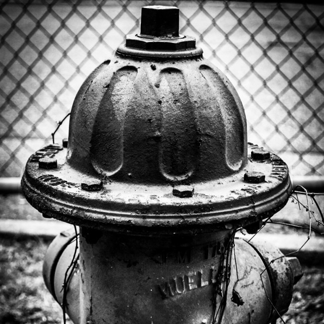 """Old fire hydrant"" stock image"