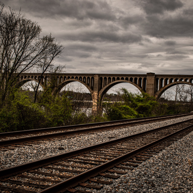 """Train tracks"" stock image"
