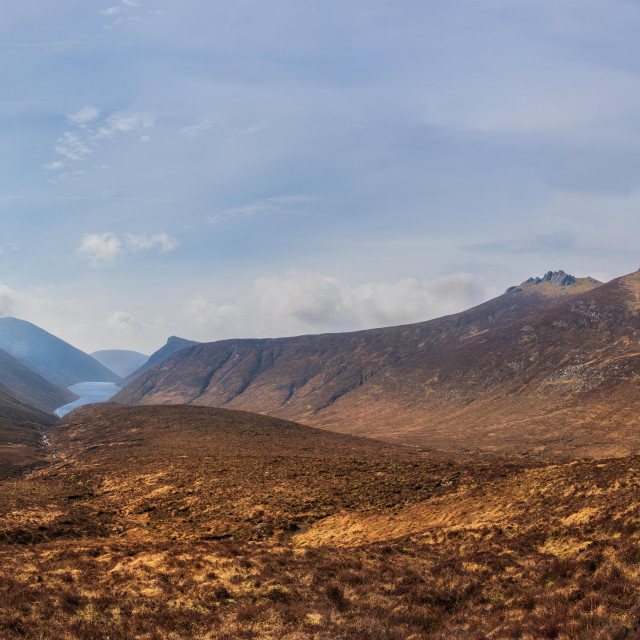 """""""The Mournes"""" stock image"""