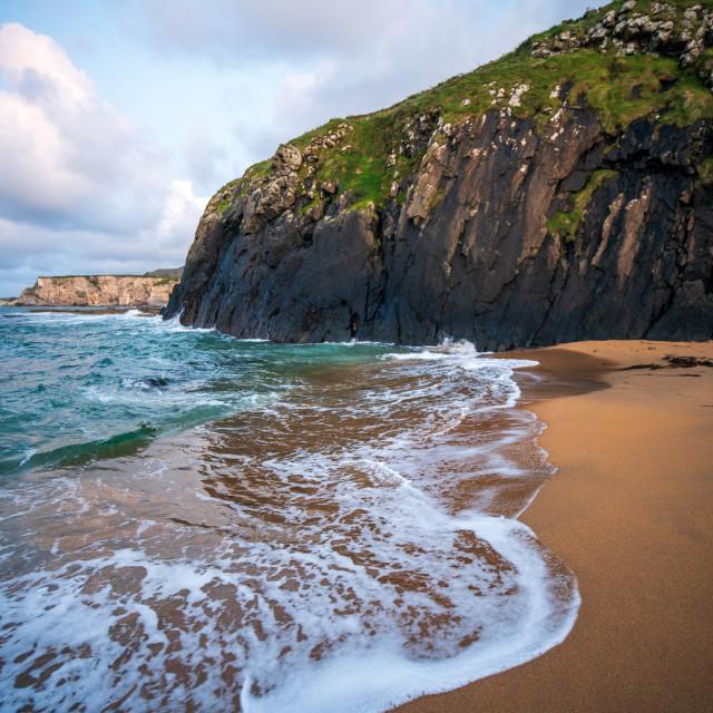 """The Secret Beach"" stock image"