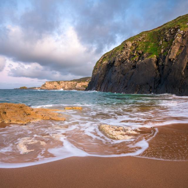 """""""The Secret Beach Landscape"""" stock image"""
