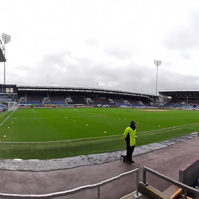 """Turf Moor stadium"" stock image"