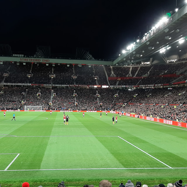 """Manchester United stadium"" stock image"