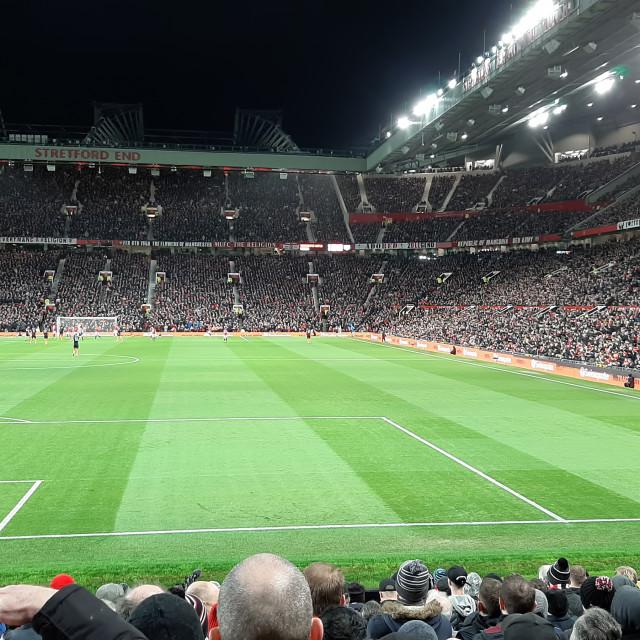 """""""UK football match"""" stock image"""