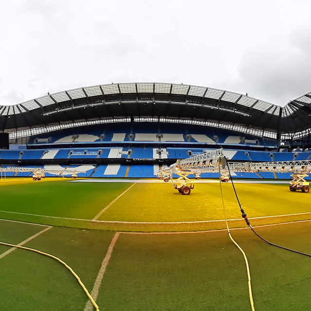 """UK football stadium"" stock image"