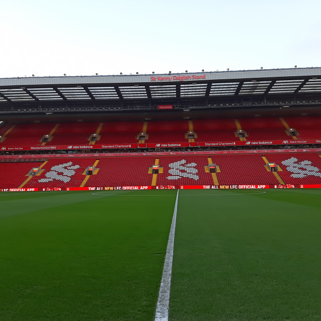 """""""This is Anfield"""" stock image"""