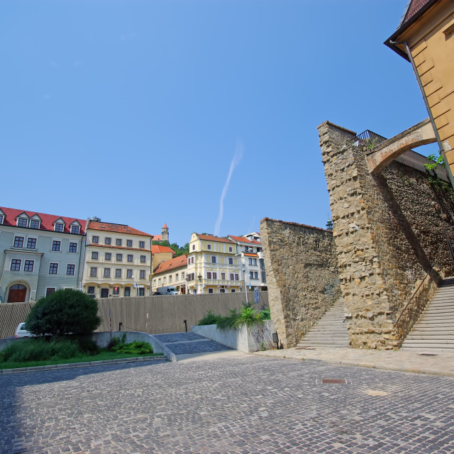 """Old city of Bratislava"" stock image"
