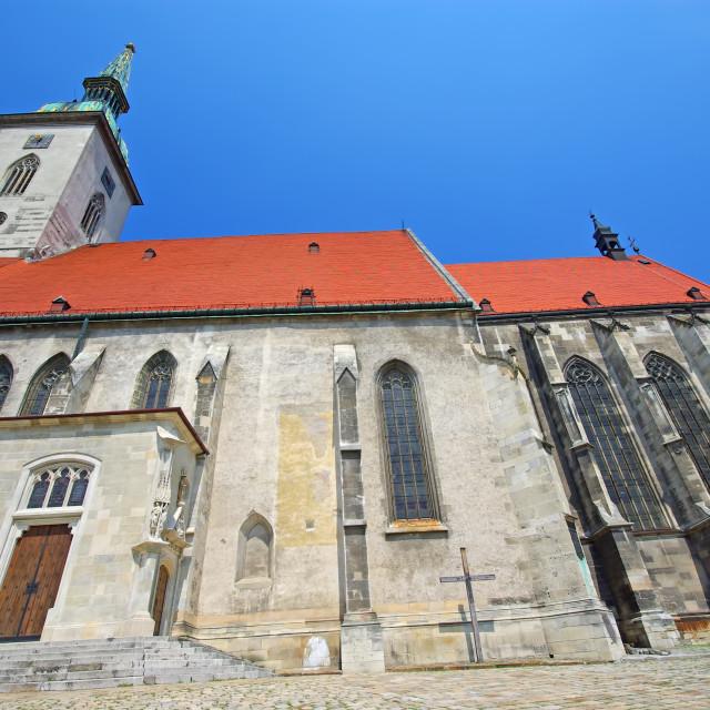"""Bratislava Cathedral"" stock image"