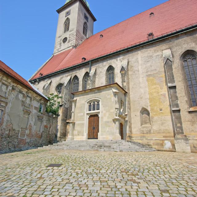 """Ancient Bratislava"" stock image"