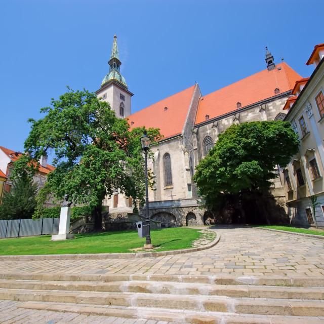"""Bratislava downtown scene"" stock image"