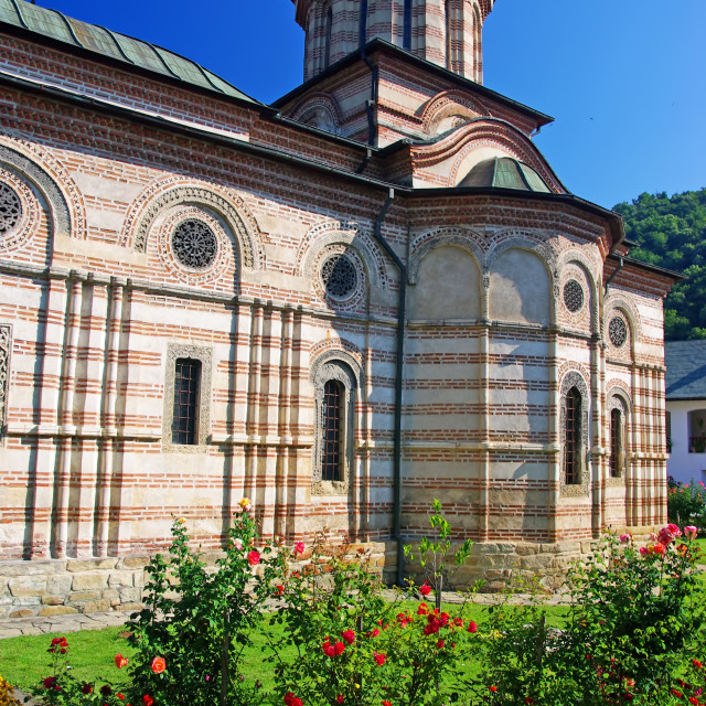 """Cozia monastery church"" stock image"