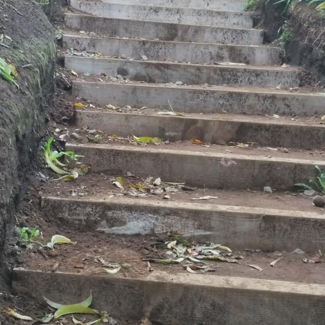 """Stairway in Kula"" stock image"