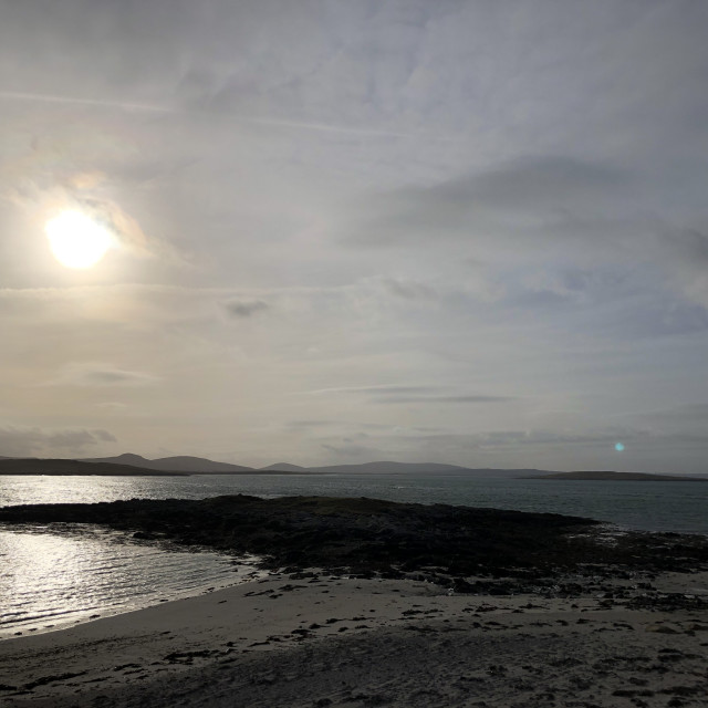 """Berneray, North Uist"" stock image"