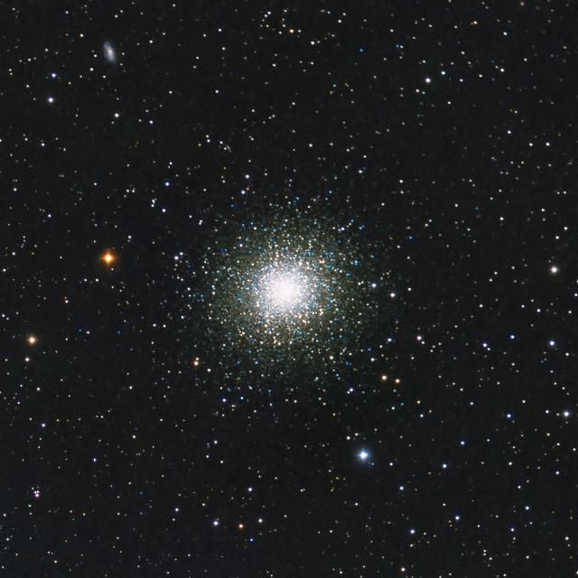 """The Great Globular Cluster in Hercules"" stock image"