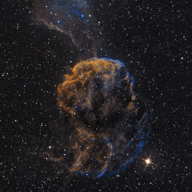 """The Jellyfish Nebula in Gemini"" stock image"