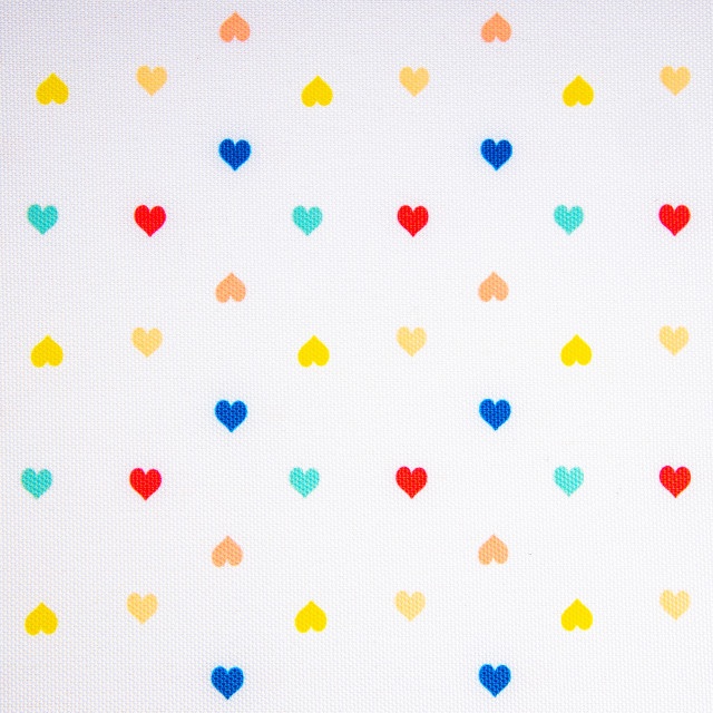 """Heart shape pattern as background texture"" stock image"