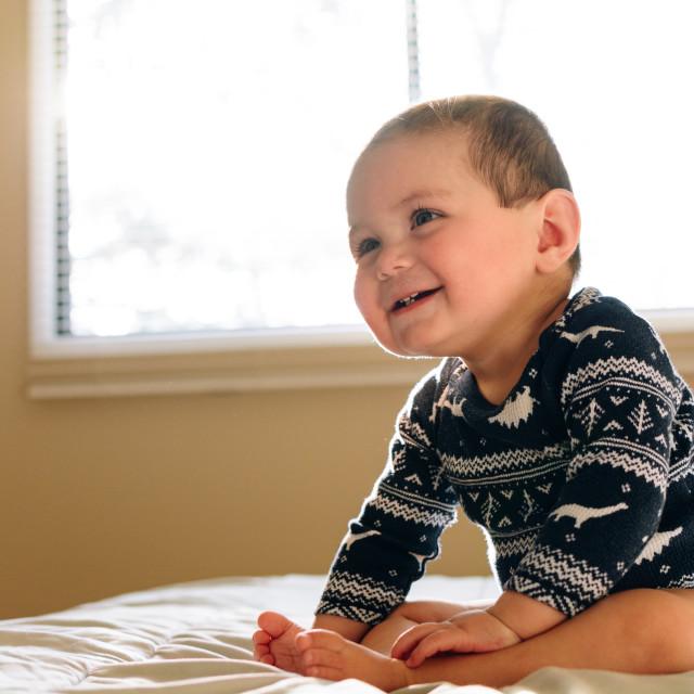 """""""Happy Baby"""" stock image"""