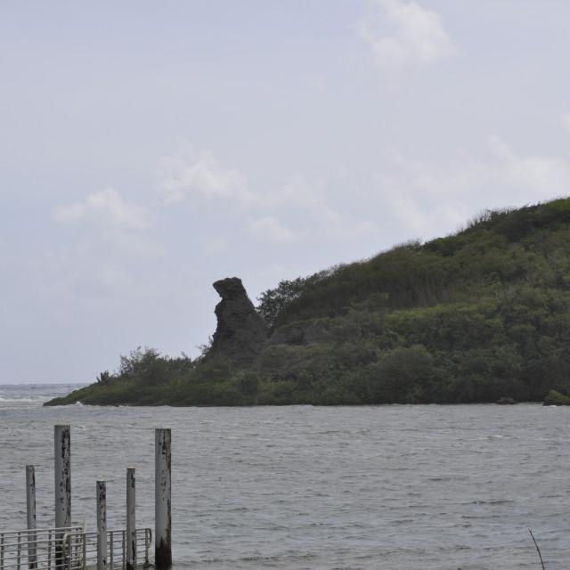 """Bear Mountain in Guam"" stock image"