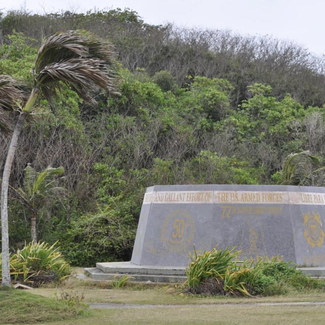 """""""War Memorial on Guam"""" stock image"""