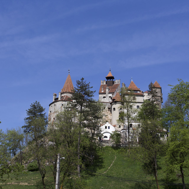 """""""Brasov castle famous attraction"""" stock image"""