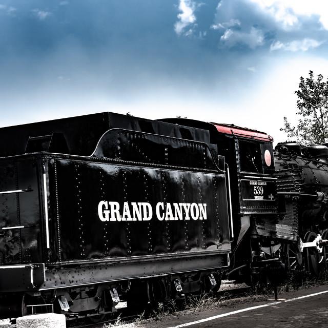 """Grand Canyon Railroad"" stock image"