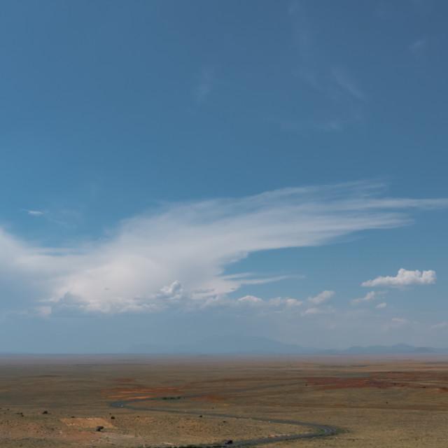 """Arizona Desert Landscape"" stock image"
