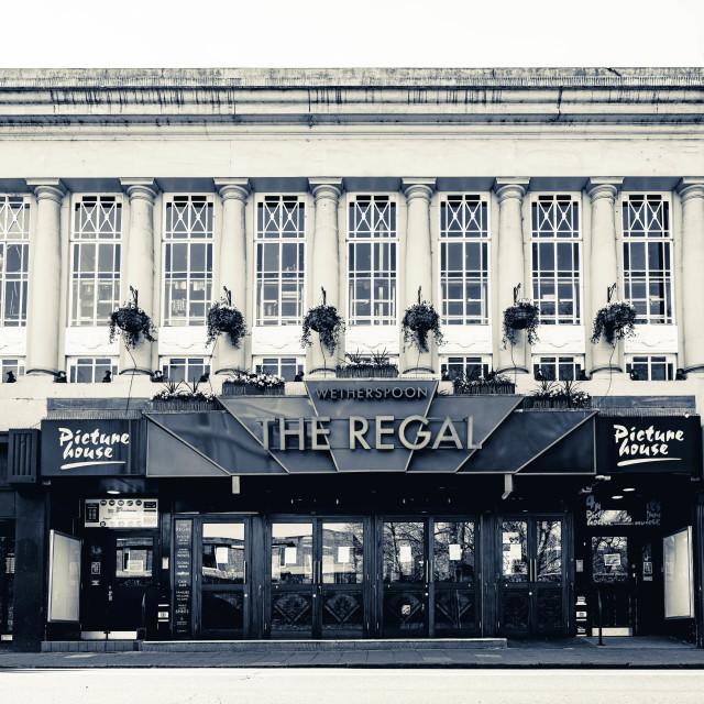 """The Regal, Cambridge UK."" stock image"