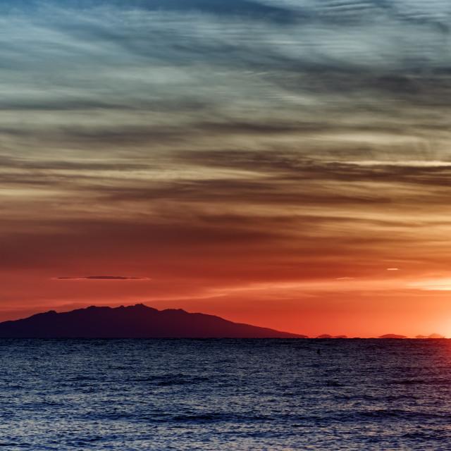 """""""Tuscan archipelago"""" stock image"""