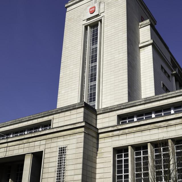 """Nottingham Trent University, UK."" stock image"