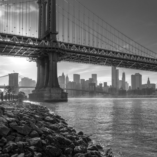 """Manhattan Bridge"" stock image"
