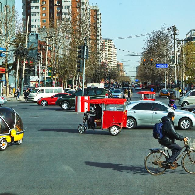 """Transportation in Beijing"" stock image"