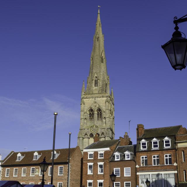 """Newark-On-Trent Nottinghamshire, UK."" stock image"