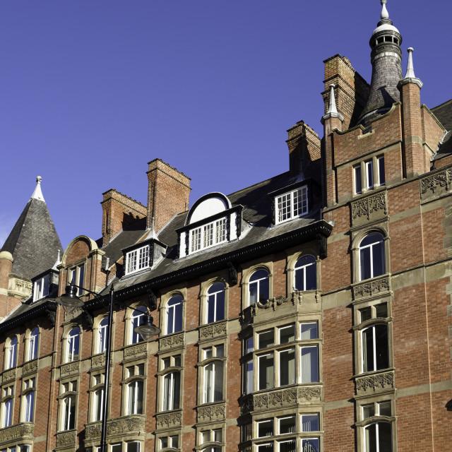 """Nottingham Architecture Watson-Fothergill, UK."" stock image"