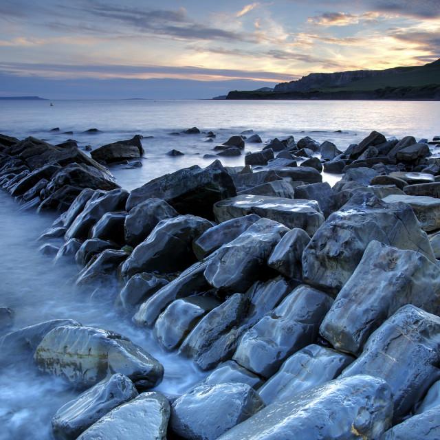 """Kimmeridge - Dorset"" stock image"