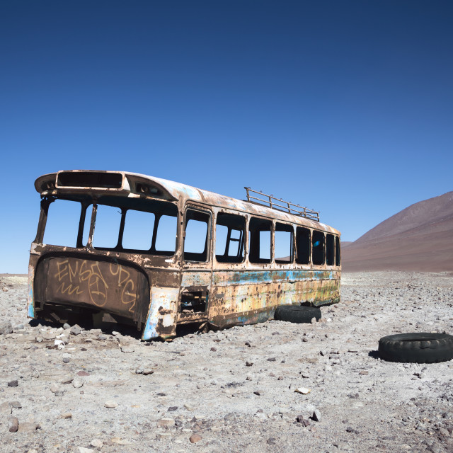 """Magic Bus"" stock image"