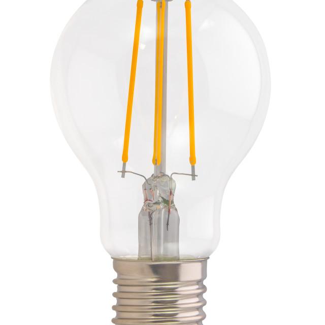 """""""Filament Style LED Eco Lightbulb"""" stock image"""