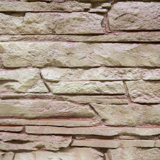 """""""Mmasonry of stoun wall, background"""" stock image"""