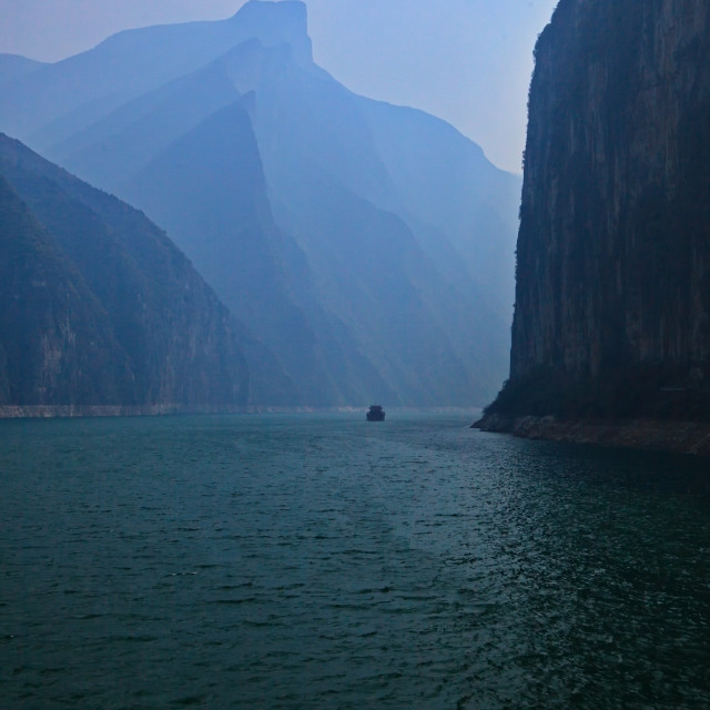 """Three Gorges"" stock image"